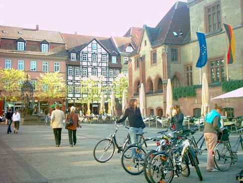 Central place in Göttingen